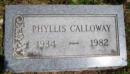 CALLOWAY, PHYLLIS - Baxter County, Arkansas | PHYLLIS CALLOWAY - Arkansas Gravestone Photos