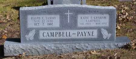 CAMPBELL (VETERAN KOR), RALPH C. SAMMY - Baxter County, Arkansas | RALPH C. SAMMY CAMPBELL (VETERAN KOR) - Arkansas Gravestone Photos