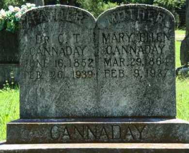 CANNADAY, DR., C. T. - Baxter County, Arkansas | C. T. CANNADAY, DR. - Arkansas Gravestone Photos