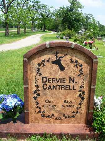 CANTRELL, DERVIE N - Baxter County, Arkansas | DERVIE N CANTRELL - Arkansas Gravestone Photos