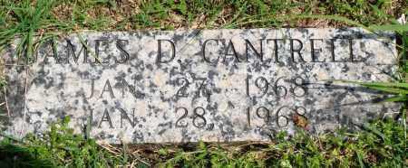 CANTRELL, JAMES D - Baxter County, Arkansas | JAMES D CANTRELL - Arkansas Gravestone Photos