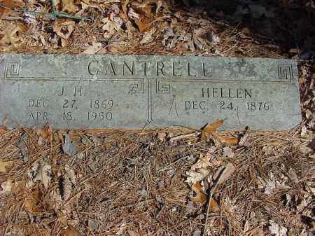 CANTRELL, JAMES H. - Baxter County, Arkansas | JAMES H. CANTRELL - Arkansas Gravestone Photos