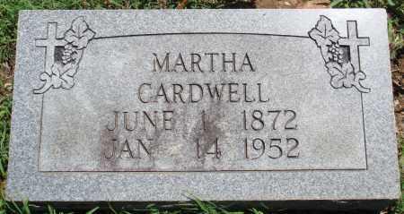 CARDWELL, MARTHA - Baxter County, Arkansas | MARTHA CARDWELL - Arkansas Gravestone Photos