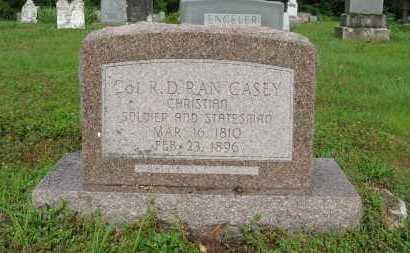 "CASEY (VETERAN CSA), COL. RANDOLF DEPRIEST ""RAN"" - Baxter County, Arkansas | COL. RANDOLF DEPRIEST ""RAN"" CASEY (VETERAN CSA) - Arkansas Gravestone Photos"