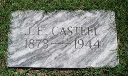 CASTEEL, J. E. - Baxter County, Arkansas   J. E. CASTEEL - Arkansas Gravestone Photos