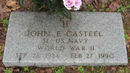 CASTEEL (VETERAN WWII), JOHN EVERETT - Baxter County, Arkansas | JOHN EVERETT CASTEEL (VETERAN WWII) - Arkansas Gravestone Photos
