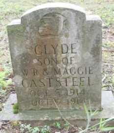 CASTSTEEL, CLYDE - Baxter County, Arkansas   CLYDE CASTSTEEL - Arkansas Gravestone Photos