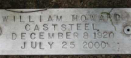 CASTSTEEL, WILLIAM HOWARD - Baxter County, Arkansas | WILLIAM HOWARD CASTSTEEL - Arkansas Gravestone Photos