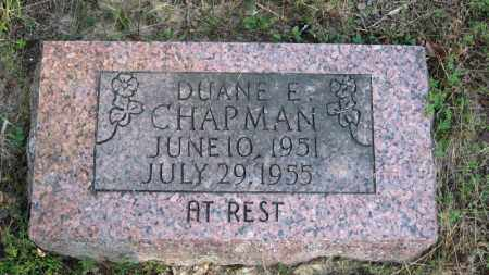 CHAPMAN, DUANE EARL - Baxter County, Arkansas   DUANE EARL CHAPMAN - Arkansas Gravestone Photos