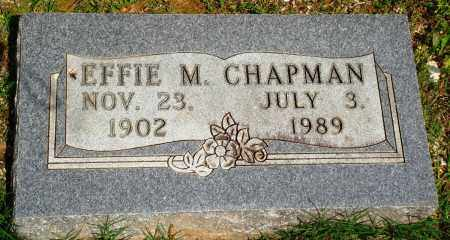 CHAPMAN, EFFIE MAY - Baxter County, Arkansas | EFFIE MAY CHAPMAN - Arkansas Gravestone Photos