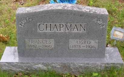 CHAPMAN, FRANCES ELIZABETH - Baxter County, Arkansas   FRANCES ELIZABETH CHAPMAN - Arkansas Gravestone Photos