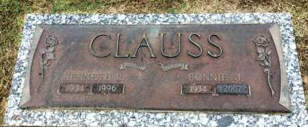 CLAUSS, BONNIE J. - Baxter County, Arkansas | BONNIE J. CLAUSS - Arkansas Gravestone Photos