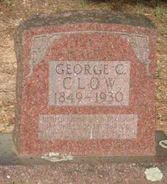 CLOW, GEORGE C. - Baxter County, Arkansas | GEORGE C. CLOW - Arkansas Gravestone Photos