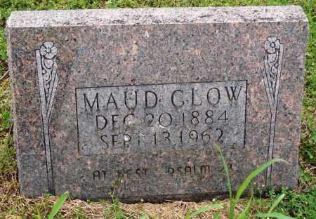 CLOW, MAUD - Baxter County, Arkansas   MAUD CLOW - Arkansas Gravestone Photos