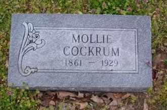 GAITHER COCKRUM (2), MOLLIE - Baxter County, Arkansas | MOLLIE GAITHER COCKRUM (2) - Arkansas Gravestone Photos