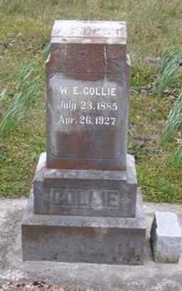 COLLIE, WILL E. - Baxter County, Arkansas   WILL E. COLLIE - Arkansas Gravestone Photos