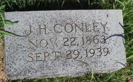 CONLEY, J. H. - Baxter County, Arkansas   J. H. CONLEY - Arkansas Gravestone Photos
