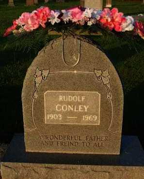 CONLEY, RUDOLF - Baxter County, Arkansas | RUDOLF CONLEY - Arkansas Gravestone Photos