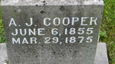 COOPER, A. J. - Baxter County, Arkansas | A. J. COOPER - Arkansas Gravestone Photos
