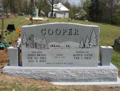 COOPER, DOUG BRIAN - Baxter County, Arkansas | DOUG BRIAN COOPER - Arkansas Gravestone Photos