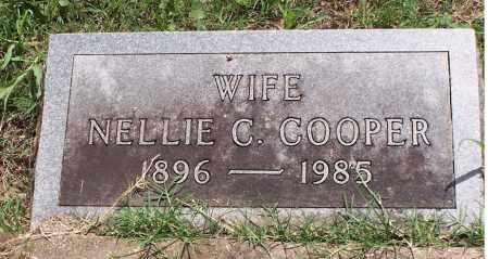 COOPER, NELLIE CORDELIA - Baxter County, Arkansas | NELLIE CORDELIA COOPER - Arkansas Gravestone Photos