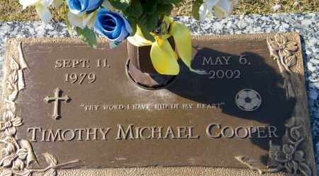 COOPER, TIMOTHY MICHAEL - Baxter County, Arkansas | TIMOTHY MICHAEL COOPER - Arkansas Gravestone Photos