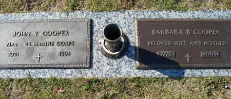 COOPER, BARBARA B - Baxter County, Arkansas | BARBARA B COOPER - Arkansas Gravestone Photos