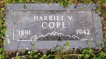 COPE, HARRIET V. - Baxter County, Arkansas | HARRIET V. COPE - Arkansas Gravestone Photos