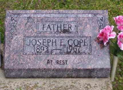 COPE, JOSEPH E - Baxter County, Arkansas | JOSEPH E COPE - Arkansas Gravestone Photos