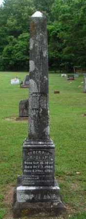 COPELAND, ELDER,  A. J. - Baxter County, Arkansas   ELDER,  A. J. COPELAND - Arkansas Gravestone Photos