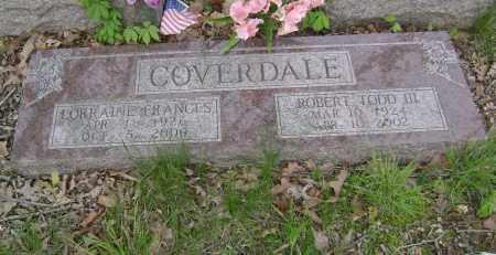 COVERDALE III, ROBERT TODD - Baxter County, Arkansas   ROBERT TODD COVERDALE III - Arkansas Gravestone Photos