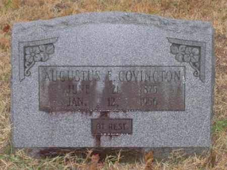 COVINGTON, AUGUSTUS EELLSWORTH - Baxter County, Arkansas | AUGUSTUS EELLSWORTH COVINGTON - Arkansas Gravestone Photos