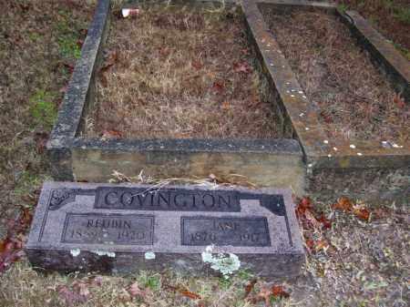 COVINGTON, REUBIN - Baxter County, Arkansas | REUBIN COVINGTON - Arkansas Gravestone Photos