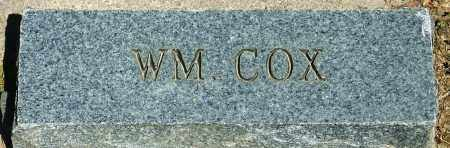 COX, WILLIAM - Baxter County, Arkansas | WILLIAM COX - Arkansas Gravestone Photos