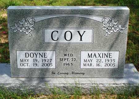 COY, DOYNE - Baxter County, Arkansas   DOYNE COY - Arkansas Gravestone Photos