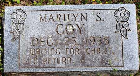 COY, MARILYN S - Baxter County, Arkansas | MARILYN S COY - Arkansas Gravestone Photos