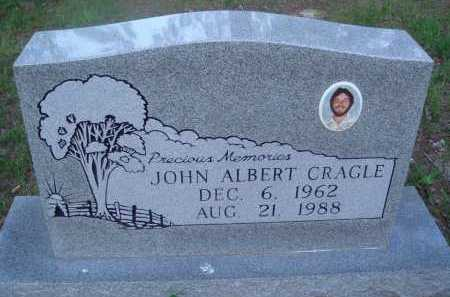 CRAGLE, JOHN ALBERT - Baxter County, Arkansas | JOHN ALBERT CRAGLE - Arkansas Gravestone Photos