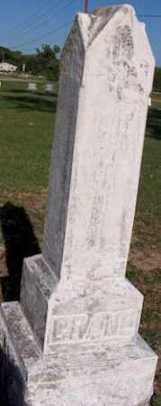 CRANE, JOSEPH - Baxter County, Arkansas   JOSEPH CRANE - Arkansas Gravestone Photos