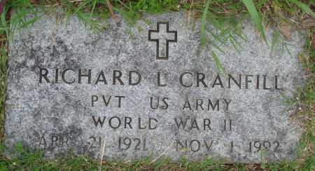 CRANFILL (VETERAN WWII), RICHARD L - Baxter County, Arkansas | RICHARD L CRANFILL (VETERAN WWII) - Arkansas Gravestone Photos