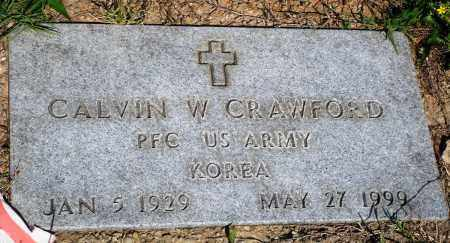 CRAWFORD (VETERAN KOR), CALVIN W - Baxter County, Arkansas | CALVIN W CRAWFORD (VETERAN KOR) - Arkansas Gravestone Photos