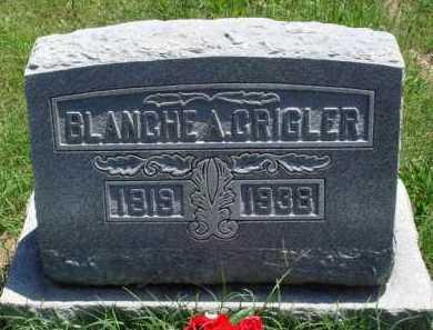 CRIGLER, BLANCHE A. - Baxter County, Arkansas   BLANCHE A. CRIGLER - Arkansas Gravestone Photos
