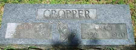 MITCHELL CROPPER, GRACE S. - Baxter County, Arkansas | GRACE S. MITCHELL CROPPER - Arkansas Gravestone Photos