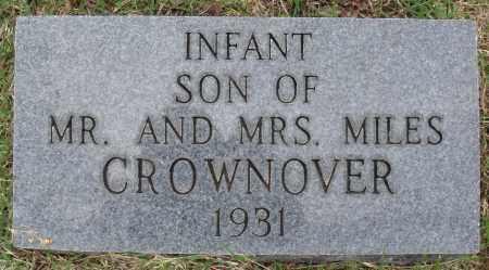 CROWNOVER, INFANT SON - Baxter County, Arkansas | INFANT SON CROWNOVER - Arkansas Gravestone Photos