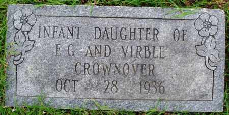 CROWNOVER, INFANT DAUGHTER - Baxter County, Arkansas | INFANT DAUGHTER CROWNOVER - Arkansas Gravestone Photos