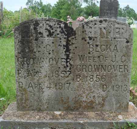 CROWNOVER, BECKA - Baxter County, Arkansas | BECKA CROWNOVER - Arkansas Gravestone Photos