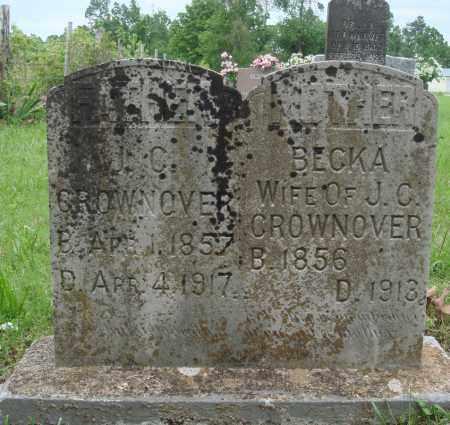 CROWNOVER, J C - Baxter County, Arkansas | J C CROWNOVER - Arkansas Gravestone Photos