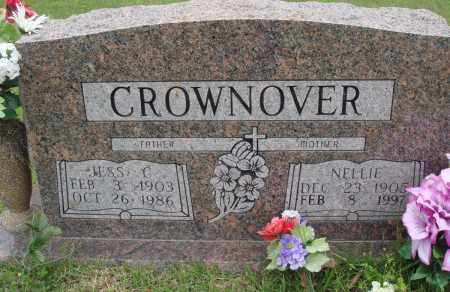 CROWNOVER, NELLIE - Baxter County, Arkansas | NELLIE CROWNOVER - Arkansas Gravestone Photos