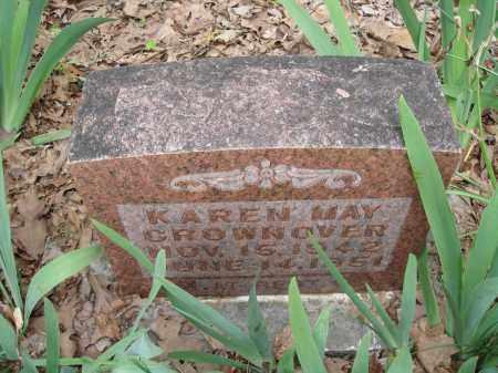 CROWNOVER, KAREN MAY - Baxter County, Arkansas | KAREN MAY CROWNOVER - Arkansas Gravestone Photos