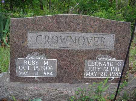 CROWNOVER, RUBY M - Baxter County, Arkansas   RUBY M CROWNOVER - Arkansas Gravestone Photos