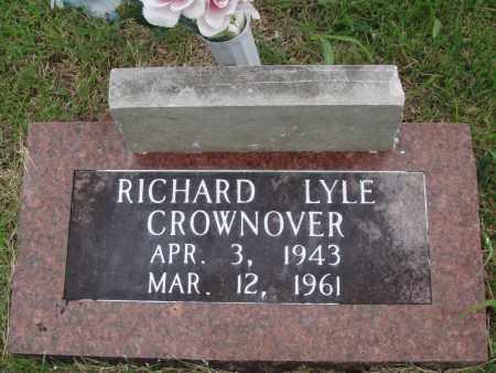 CROWNOVER, RICHARD LYLE - Baxter County, Arkansas | RICHARD LYLE CROWNOVER - Arkansas Gravestone Photos